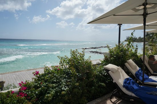 The SoCo Hotel-Adults Only All Inclusive: View of beach from Pool deck