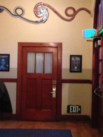 McMenamins Kennedy School: Two rooms are behind this door.