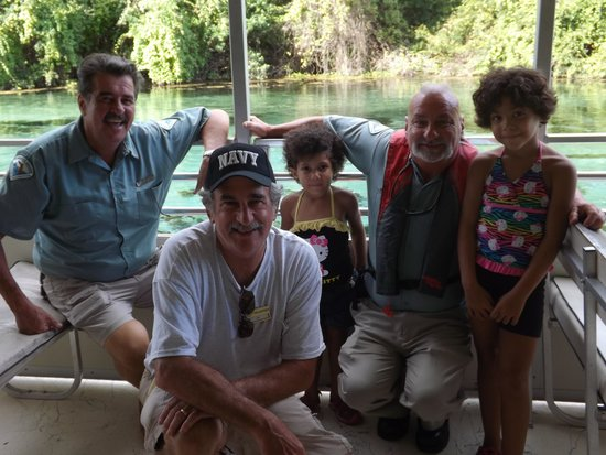Weeki wachee springs the quot crew quot of the riverboat w our daughters