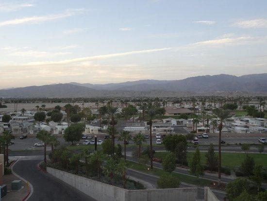 Fantasy Springs Resort Casino : View of the desert mountains