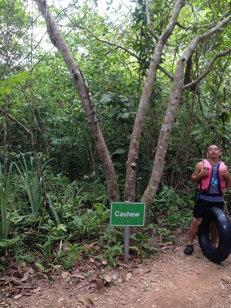 Cave Tubing with Vitalino Reyes: Our guide in our walk to the caves