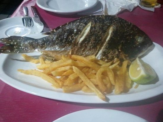 Chiringuito Paco: Whole Fish