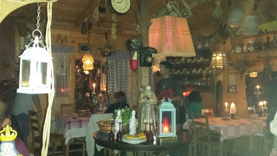 Antica Locanda Skansen: La sala