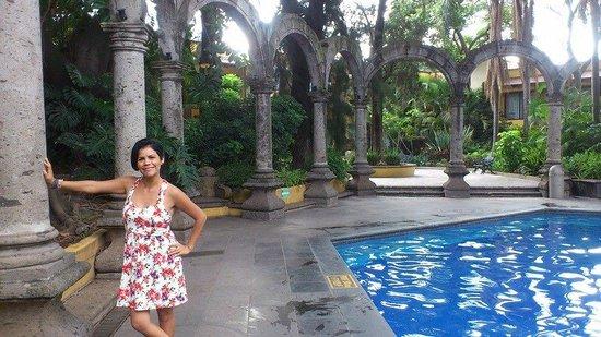 Holiday Inn Guadalajara Expo: el area de la alberca