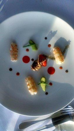 Restaurant Le Saint-James Relais & Chateaux : Plat
