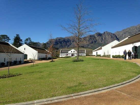 The Franschhoek Motor Museum: Museum buildings and grounds