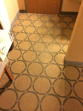 Days Inn Helena: The stained carpet