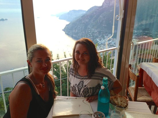 Ristorante Santa Croce : Dinner with a view