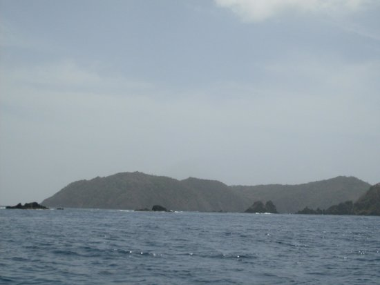 Little Tobago: view from ocean