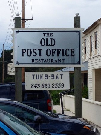 The Old Post Office Restaurant: Sign