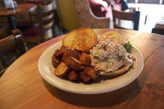 The Phoenix: New Fall 2014! Chicken Salad Sandwich! made with local organic chicken!