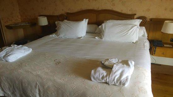 Chateau de Brindos : Bed