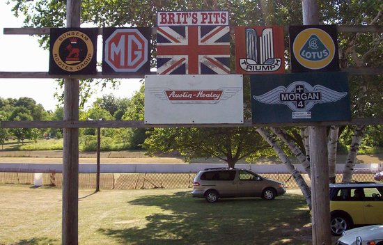 Road America: Designated gathering spots for car lovers.