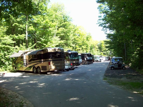 Road America: Several areas for camping.