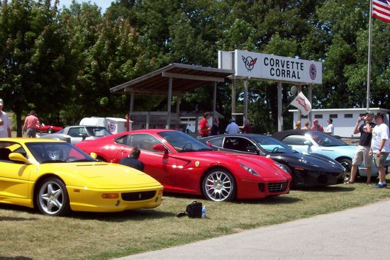 Road America: A very popular gathering spot for Corvette owners.