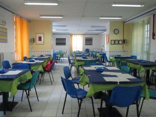 Litus Roma Hostel: Sala colazione