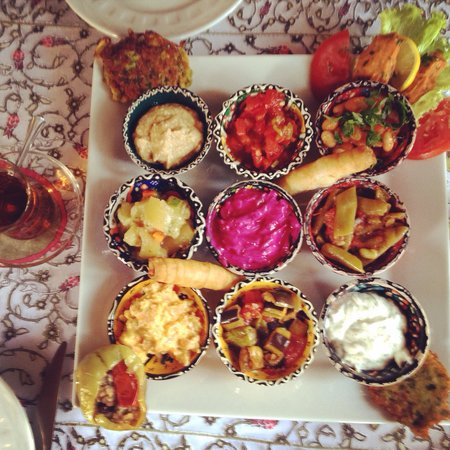 Small House : Amazing appetizer sampler.