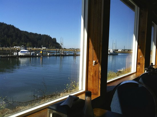 Griff's on the Bay Restaurant & Seafood Market: view from our table