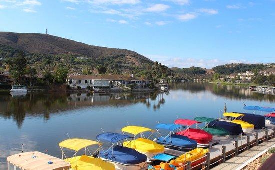 Lakeside view picture of lakehouse hotel resort san marcos tripadvisor - Quails inn restaurant san marcos ...