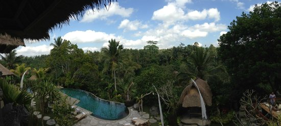 Puri Gangga Resort : View from our room (701)