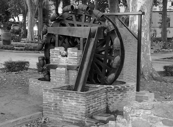 Parque Maria Cristina: Waterwheel