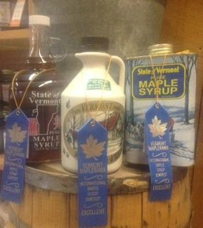 Sugar Shack : THREE blue ribbons for our Fancy, Medium Amber, and Dark Amber syrups!!