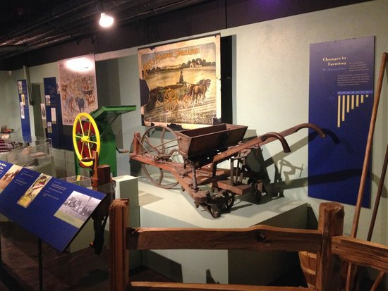 Campus Martius Museum : How newly invented farming equipment caused migration from farms