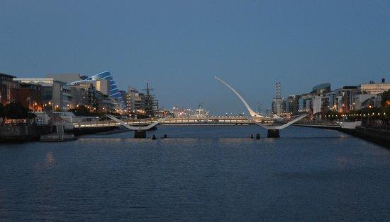 Samuel Beckett Bridge River Liffey