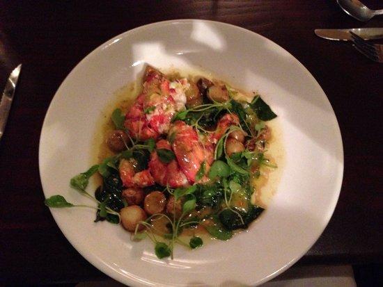 Valentina Coastal Maine Kitchen : Poached Lobster