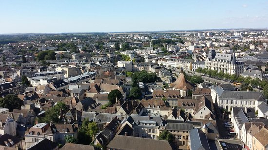 Tower of Chartres Cathedral: view from the top