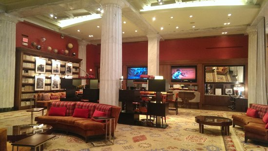 The Hotel Minneapolis, Autograph Collection: Portion of Hotel Lobby Reading Area