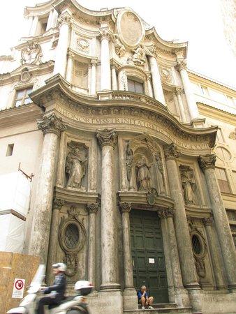 San Carlo alle Quattro Fontane: фасад