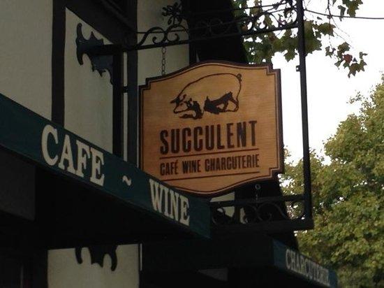 Succulent Cafe : cafe