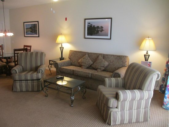 Summer Bay Orlando By Exploria Resorts: older but high quality comfortable furnishings
