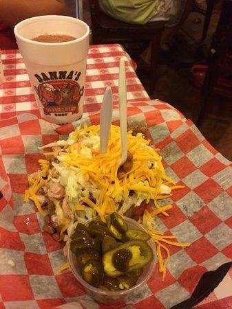 Danna's Barbeque & Burger Shop: potato