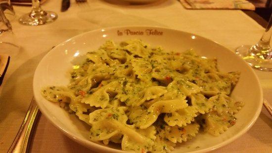 La Pancia Felice: our favorite paste dish