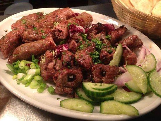 Samimi's Restaurant: Main meal