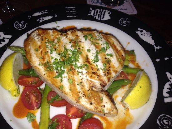 Fathoms Restaurant & Bar : Swordfish Special