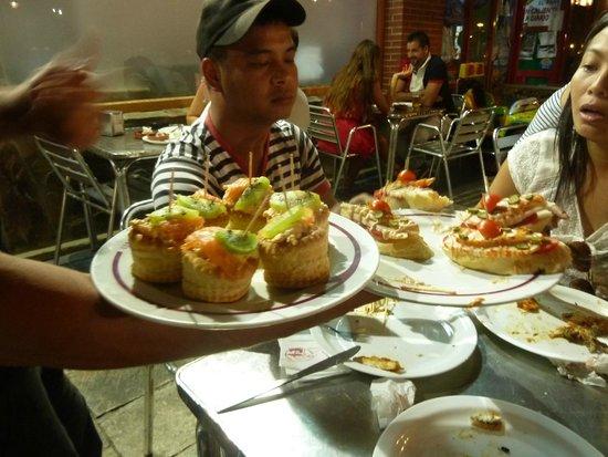 Lizarran : tapas to your table