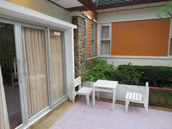 Small Outdoor Seating Area Picture Of Phukhaongam Resort Nakhon Nayok Tripadvisor