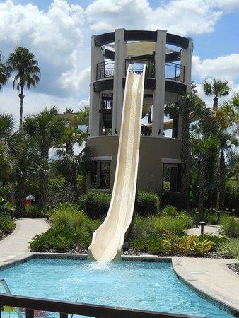 Marriott World Hotel Water Slide Picture Of Marriott S