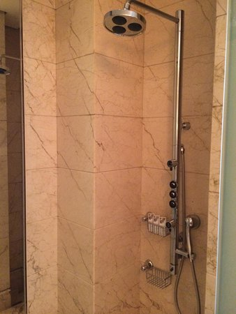 The St. Regis Singapore: particularly like the shower