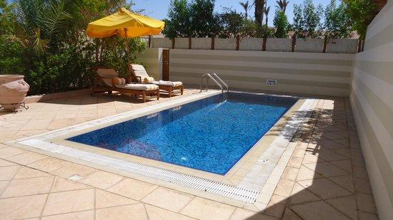 The Oberoi Sahl Hasheesh : Private pool