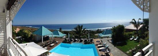 Blue Margouillat Seaview Hotel : Vue depuis la chambre n*4