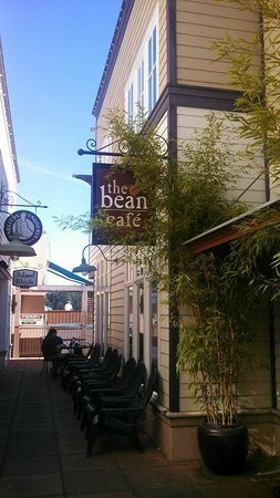 The Bean Cafe: First Street, turn in at the Lavender shop