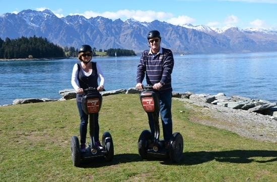 Segway on Q: lake wakatipu