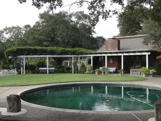 Robert Hunter Winery: Courtyard pool