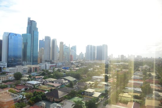 City Garden Hotel Makati : view from our room