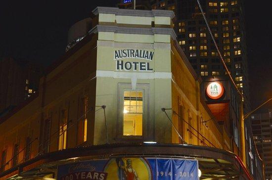The Australian Heritage Hotel: Original signage