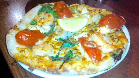The Australian Heritage Hotel: Tiger Prawn Pizza